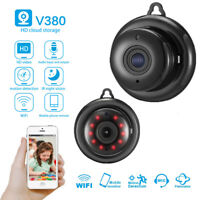 Mini HD 1080P Wifi IP Camera IR Night Vision Wireless Security Camcorder DV DVR