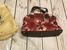 Vivid! by Sukriti Brown Genuine Leather Hand Painted Satchel Bag 3003859