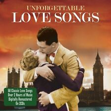 Unforgettable Love Songs 2-CD NEW SEALED Bobby Darin/Sam Cooke/Nat King Cole+