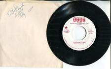 Tuffy Williams Autograph Singers Signed Sleeve W/ Ballad Of Jessica McClure 45