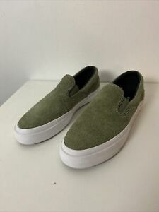 Converse Cons One Star Pro CC Slip on Pro olive Suede NEW 8.5 Men 10 Womens