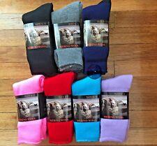 6 Pairs size 6-11 Top Quality 90% Merino Wool SUPER SOFT WARM Dress Work Socks