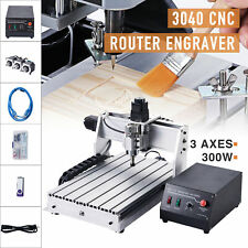 3 Axis Cnc Router Engraving Milling Cutting Machine W Usb Port Wood