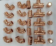 25 X 15MM SOLDER RING COPPER MIXED FITTINGS