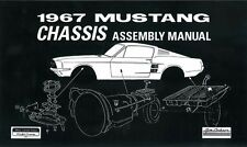 1967 Ford Mustang Chassis Assembly Manual Rebuild Instructions Illustrations OEM