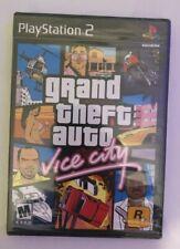 New Sealed Grand Theft Auto: Vice City Gta Ps2 (Sony PlayStation 2, 2002)