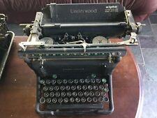 Antique Underwood Standard Vintage Manual Typewriter Prop Serial No S5400679-11