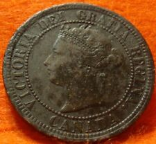 1882 High Grade CANADA LARGE CENT Victoria COIN NoRes CANADIAN