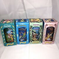 Walt Disney Collector Series Cups Burger King Set of 4 - 1994 Snow White Jungle