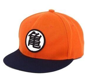 Hat Dragon Ball Z Kame Logo Orange & Blue Adult Cap Hat