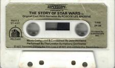 1977 Superscope THE STORY OF STAR WARS CASSETTE TAPE Only Original Cast Voices