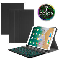 For New iPad Air 10.5'' 3rd Gen 2019 Case Cover with Backlit Bluetooth Keyboard
