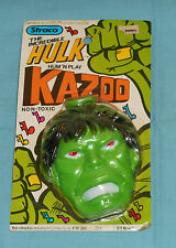 vintage Straco THE INCREDIBLE HULK KAZOO rack toy