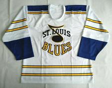 New Men's XXL Original 1967 Prototype Style St Louis Blues Jersey