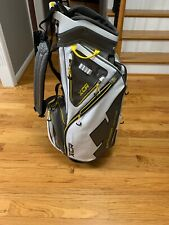 Brand New Xcr Sun Mountain Golf Bag - White, Yellow, Gray With Tags!