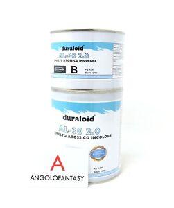 Duraloid AL-30 Prochima Smalto epossidico atossico trasparente lucido 1 kg