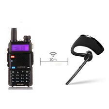 Bluetooth Headset Earpiece For KENWOOD TYT BAOFENG UV-5R Wouxun Walkie Talkie