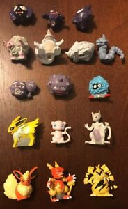 Rare Pokemon Miniature Figures Lot 4 from Mystery Poke Pack U PICK ONE FIGURE