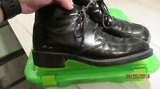 Men's Dress Shoe Lavorazione Artigiana Black Oxford Shoes/Boots Sz 8.5