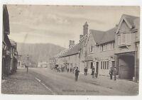 Salisbury Street Amesbury Wiltshire 1910 Postcard Tucker 698b