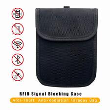 1x RFID Strahlenschutztasche Für Keyless Schlüssel Entry Diebstahl Schutz Tasche