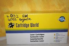 2 toners 4092BK Black et 4092 Magenta - SAMSUNG CLT-P4092 K4092 M4092  CLP-310