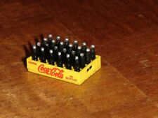 MINIATURE CRATE OF COCA COLA SCALE 1/24 (RED WRITING ON COKE CRATE) DIORAMA  NEW