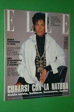 ELLE ITALIA settembre 1993 cover CARMEN CARMEN SCHWARTZ UMA THURMAN SAM NEILL