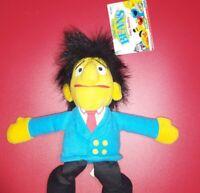 """CTW Sesame Street Guy Smiley  6"""" Plush Bean Bag New Tyco Vintage 1997"""