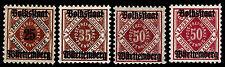 1919 GERMANY - WURTTEMBURG OFFICIAL OVERPRINTS - OGH - VF - $15.40 (ESP#9789)