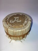 Antique Native American Indian Porcupine Quill Box See Pics before making offer