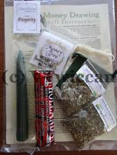 Money Drawing All in One Ritual Spell Kit Pagan Witchcraft Altar Supply
