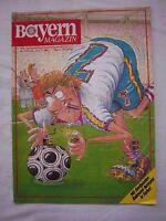 Orig.PRG   1.Bundesliga  1988/89   FC BAYERN MÜNCHEN - WALDHOF MANNHEIM ! SELTEN