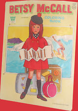 1971 Betsy Mccall Coloring Book.A Whitman Book.Mccall Publishing
