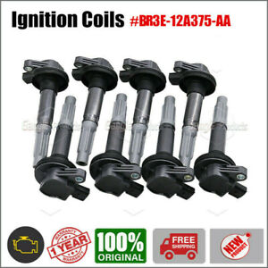 For 2011 2012 2013 2014 Ford F150 Mustang 5.0 Ignition Coils OE# BR3E12A375AA