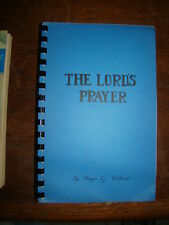 ESSAYS ON MEANING OF THE LORD'S PRAYER HUGO ODHNER
