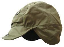 WATERPROOF BREATHABLE MOUNTAIN HAT mens olive country trek hat with fleece inner