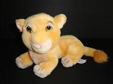 "Vintage Disney Lion King Nala Plush 9"" Cub Simba"