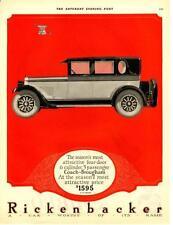 1925 Rickenbacker - 4 Door - 5 Passenger Coach-Brougham - Original Advertisement