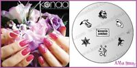 Konad Stamping Nail Art Image Plate S5 WESTERN COWGIRL