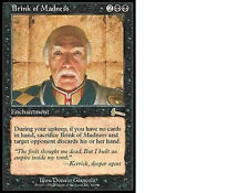 MAGIC MTG - BRINK OF MADNESS - ORO - IN INGLESE