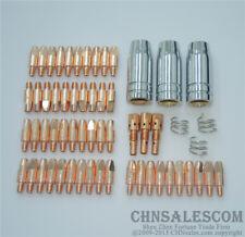 59 PCS MB 25AK MIG/MAG Welding Torch Contact TIP Gas Nozzle Gas Diffuser