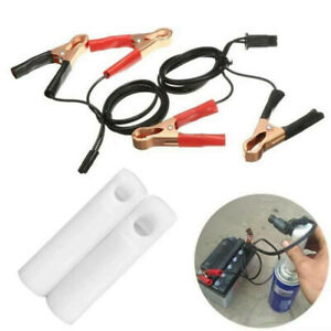 Car Fuel Injector Flush Cleaner Fuel Injector Adapter Tool Cleaning Washing Kit