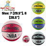 Official NBA Game Basketball Training Indoor Outdoor Rubber Spalding Varsity New