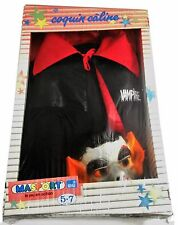 VAMPIRE COSTUME 1980s MASPORT SNJ Nosferatu Mint Sealed Dressing Up Kids Dracula