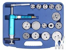 Pneumatic Disc Brake Caliper Piston Compressor Windback Wind Back Pad Tool 16pc