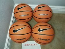 "Lot Of 4 Nike Hyper Elite 28.5"" / 72.4cm Mid Size Basketball Ball, Pbb372-899"