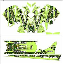 POLARIS AXYS WRAP KIT SKS decal GRAPHICS 800 600 PRO RMK ASSAULT 144 155 163