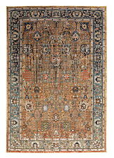 4' x 6' Karastan Machine Woven Area Rug Myanmar Tobacco Multi Traditional