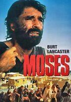 NEW DVD - MOSES - BURT LANCASTER , MARIANGELA MELATO , ANTHONY QUALE